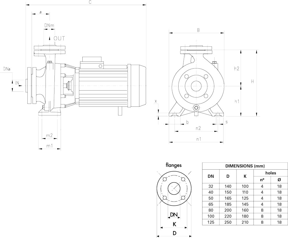Kích thước Pentax CM40-200B1