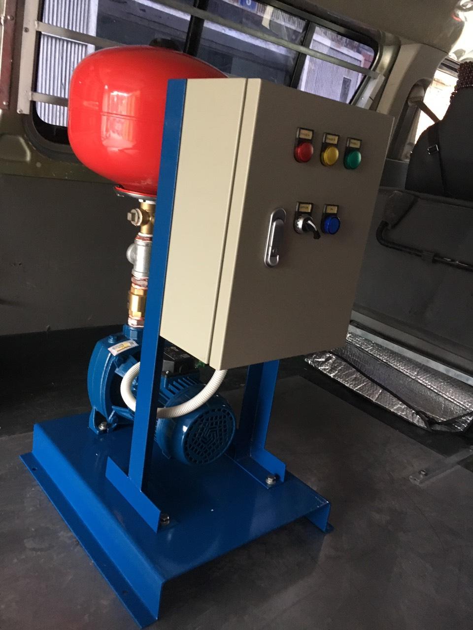 Lắp đặt máy bơm công nghiệp Pextax Lắp đặt máy bơm công nghiệp Pextax CM32-160B